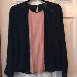 Forever 21 Fancy very  light shear blouse